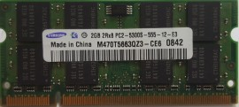 Samsung 2GB 667Mhz DDR2 (PC2-5300) Laptop geheugen